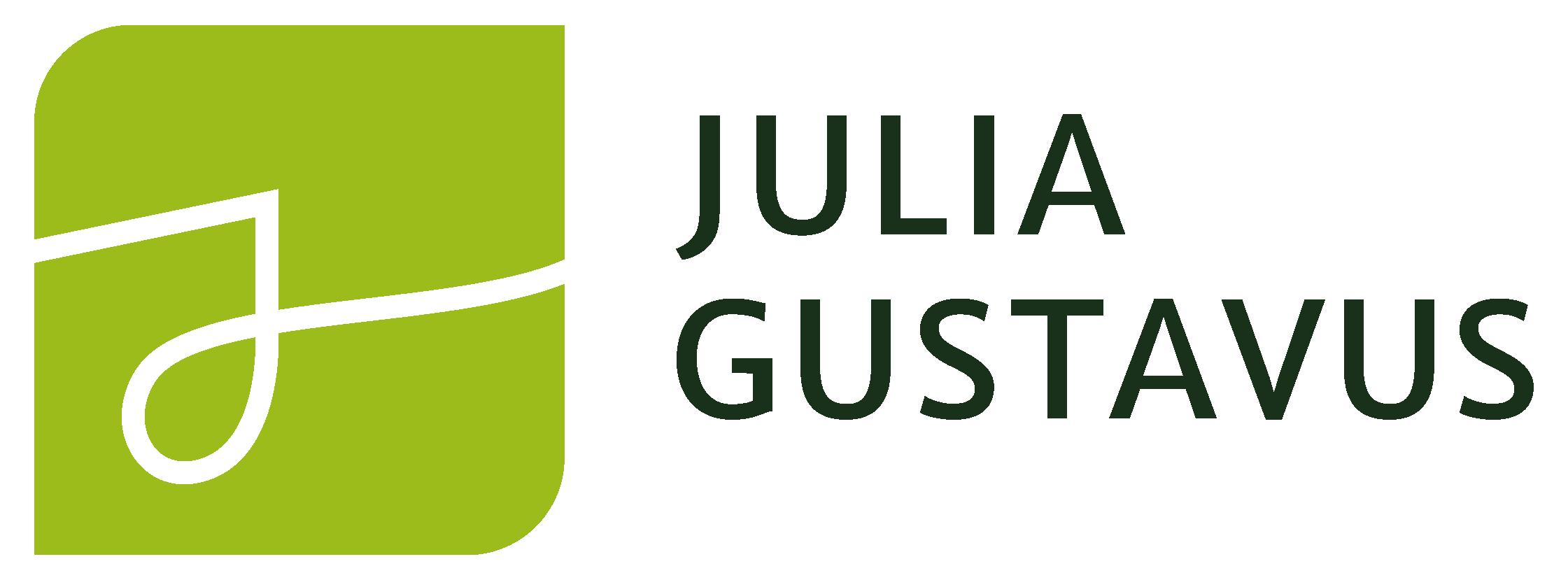 Julia Gustavus_Logo_Farbe